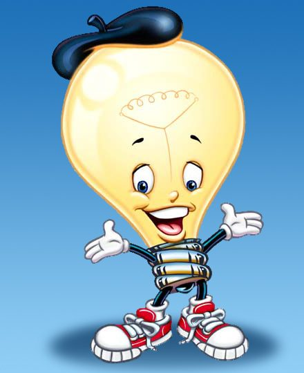 Light Bulb Guy Illustration by Eddie Young